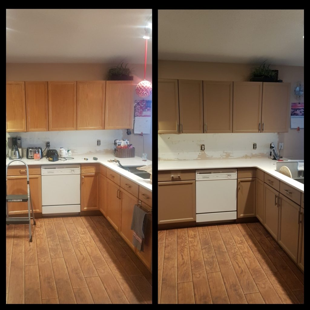 Kitchen Cabinets Edmonton: Kitchen Cabinet Re-Finishing And Re-Facing